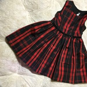 CHEROKEE BLACK/RED FORM DRESS GIRLS